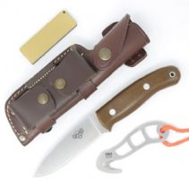 TBS Wolverine Knife Hunters Edition - Brown G10